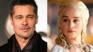 Brad Pitt y Emilia Clarke