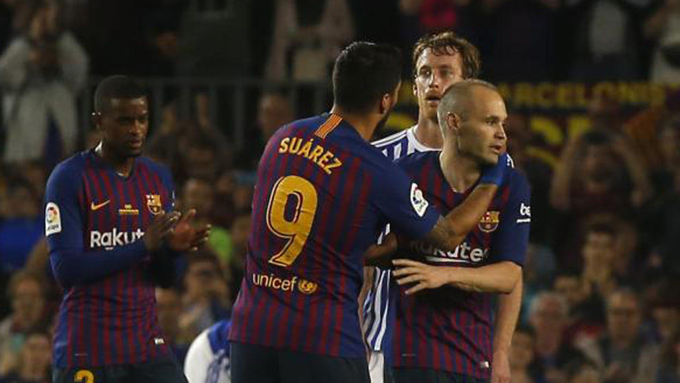 FC Barcelona  Sigue en directo la despedida de Iniesta en el Camp ... 72cd8be9bc420