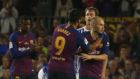 Sigue en directo la despedida de Iniesta en el Camp Nou