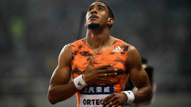 Orlando Ortega, tras una competición