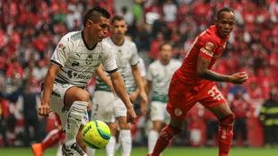 El paraguayo fue fundamental en la media de los de Torreón