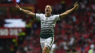 Furch festeja el gol tempranero en el Nemesio Diez