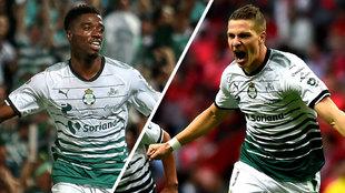 Djaniny Tavares y Julio Furch, los dos referentes del gol
