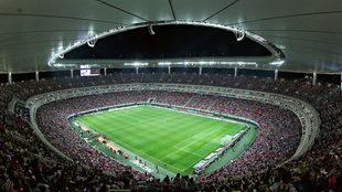 Estadio Akron durante el Clásico Guadalajara vs América.