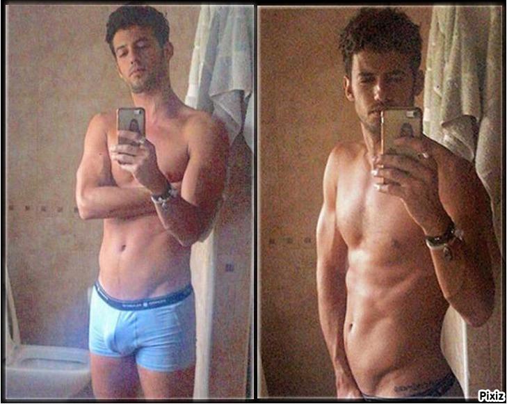 El doble polémico desnudo en Instagram de Jorge Brazález López,...