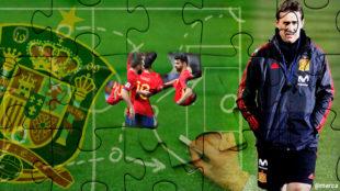Falso nueve, tres centrales, ataque total... ¿cómo tiene que jugar España?