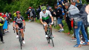 Igor Antón, en carrera