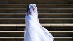 Meghan Markle el día de su boda, el pasado 19 de mayo