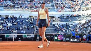 Maria Sharapova, durante el pasado Abierto de Roma.