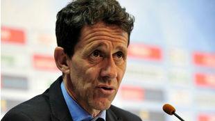 Ramón Planes (50), director deportivo del Getafe.