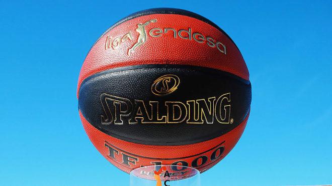 El balón del Playoff de la Liga Endesa