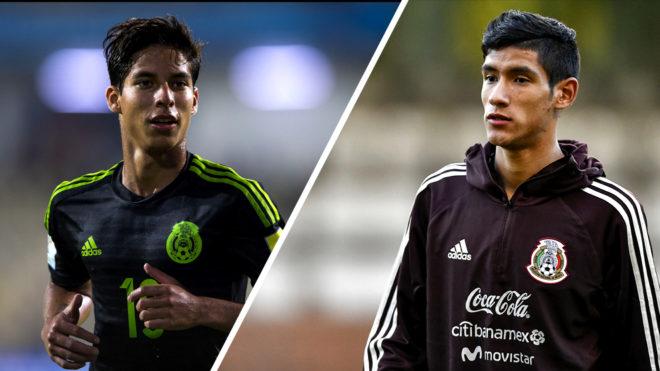 Selección Mexicana  Diego Lainez y Uriel Antuna encabezan la lista ... 9d541aba0b2fb
