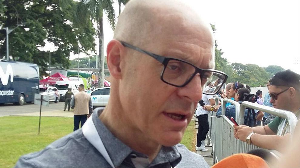 Dave Brailsford, director general del equipo Sky.