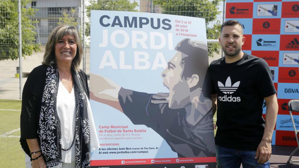 """Jordi Alba: """"Creo que Griezmann en el Barça estaría muy bien"""""""
