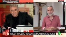 """Bronca entre Willy Toledo y Ferreras: """"Estás legitimando el fascismo encubierto"""""""