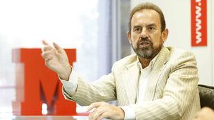 Ángel Torres, en una entrevista con MARCA.