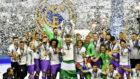 Sergio Ramos levanta la 12ª Copa de Europa en Cardiff