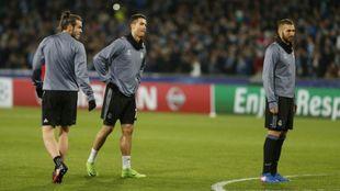 La BBC calienta antes de un partido de Champions League
