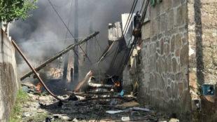 Un muerto y varios heridos en una explosión de un almacén pirotécnico en Tui