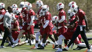 Entrenamiento de los Cardinals