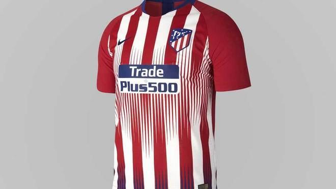 a136a73417fda Atlético de MadridUna novedad serán los detalles azules en la parte  inferior de las rayas rojas