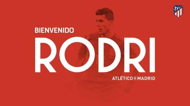 El Atlético hace oficial el fichaje de Rodri