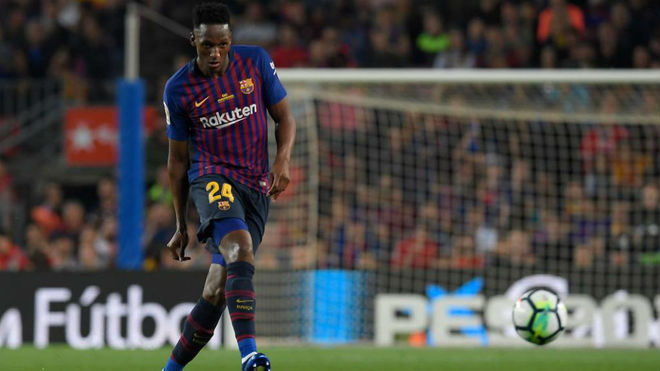Laliga barcelona yerry mina leaving barca hasnt crossed my mind laliga barcelonarecognised it hasnt been an easy year stopboris Choice Image