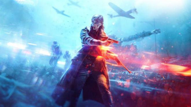 Portada Battlefield V
