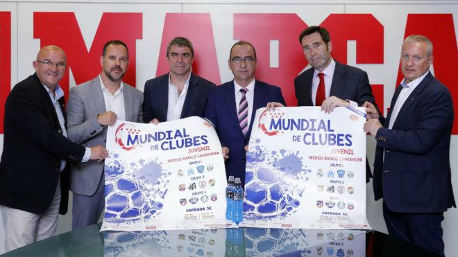 Arranca el xiv mundial de clubes juvenil for Oficina banco santander fuenlabrada