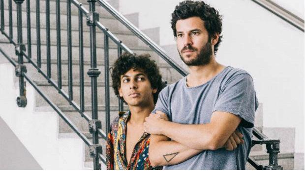 Willy Bárcenas y Antón Carreño, componentes de Taburete.