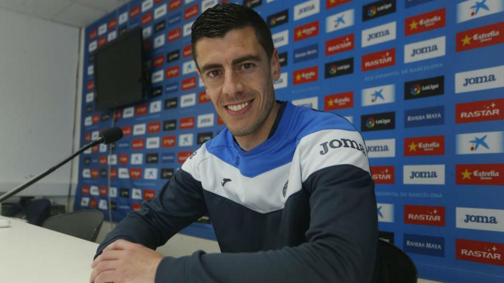 Jairo Morillas, en la Ciudad Deportiva de Sant Adrià.