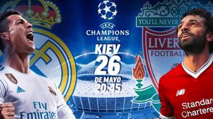 Final Champions 2018 - Real Madrid vs Liverpool - Estadio de Kiev