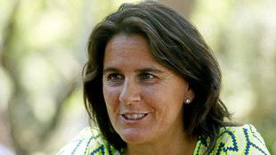Conchita Martínez, durante una entrevista a MARCA.