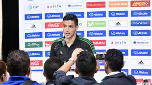 El atacante del Benfica, en declaraciones a la prensa.