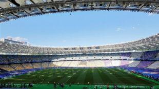 Las gradas del Olímpico de Kiev no se llenarán.