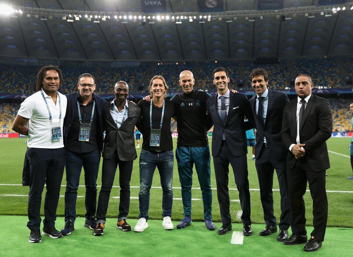 93d61a22abc3c 14 12 horas. Ocho jugadores que ganaron la Champions League con el Real  Madrid  Christian Karembeu Predrag Mijatovic Claude Makélélé Michel Salgado  Zinédine ...
