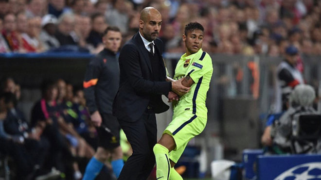 Neymar 'really wants' to work under Guardiola