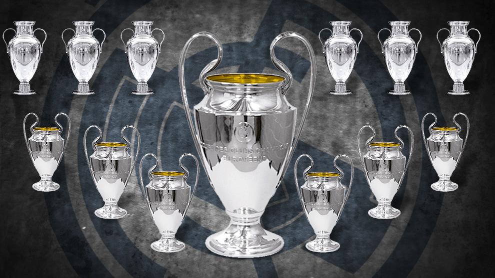 Real Madrid Campeón Champions 2018 El Madrid Ya Tiene Más Champions Que Copas De Europa Marca Com