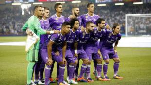 El once del Real Madrid en la final de la Champions de 2017, el mismo...