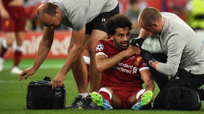 Mohamed Salah receives medical