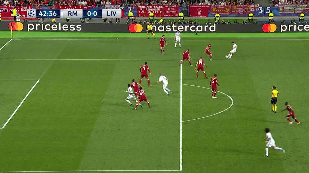 Real madrid liverpool gol bien anulado al real madrid for Fuera de juego real madrid
