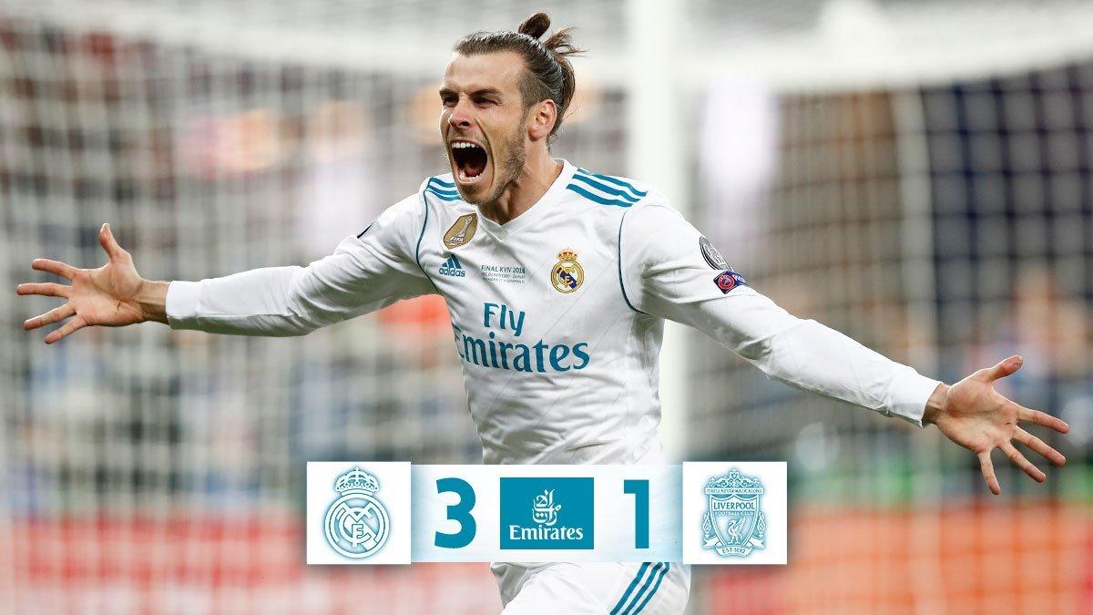6da4b4633e8ff Gareth Bale es el primer suplente que marca un doblete en una final en toda  la historia de la Copa de Europa   Champions League.
