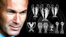 Histórico Zidane: nueve títulos, tres Champions, en ¡dos años y medio!