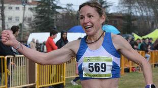 Laia Andreu, durante una carrera
