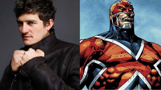 Orlando Bloom quiere entrar en Marvel — Capitán Britania