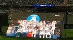 Watch how the Bernabeu celebrated Real's UCL triumph