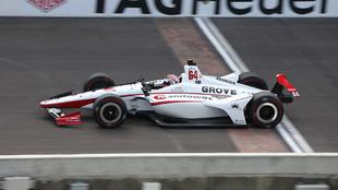 Oriol Serviá lideró la carrera durante 16 vueltas