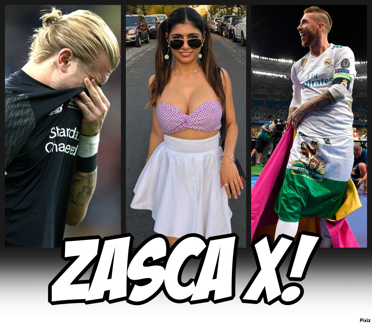 Zasca X de Mia Khalifa a Sergio Ramos para defender a Loris Karius