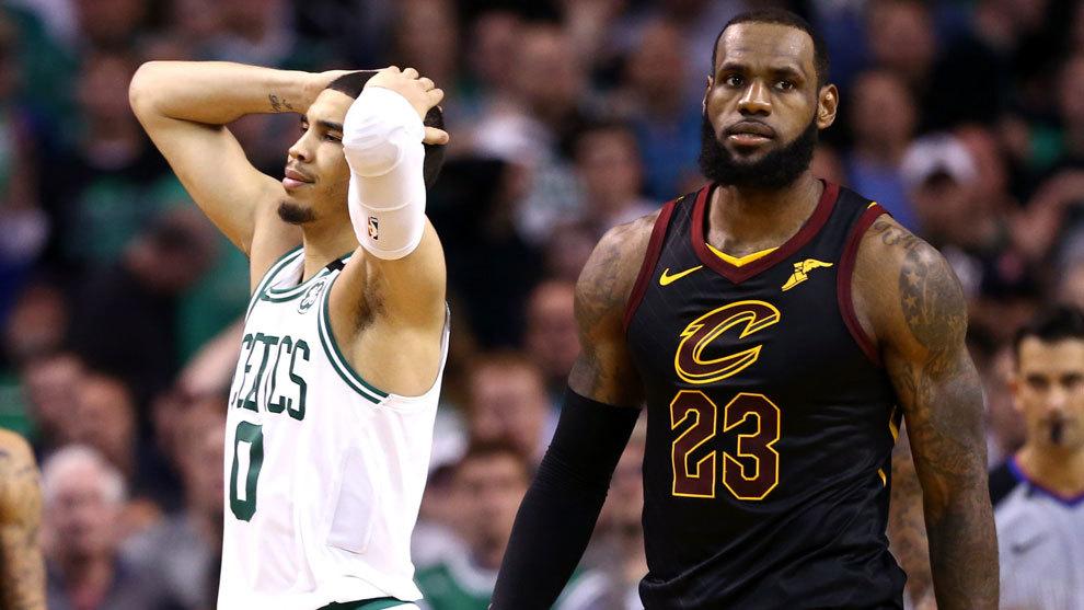 Tatum lamenta la derrota de los Celtics en presencia de LeBron
