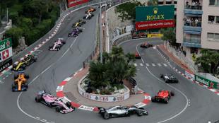 Primeros compases del GP de Mónaco